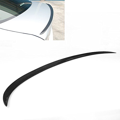 - Carbon Fiber New Rear Trunk Spoiler Wing Lip For 2008-2011 BMW E90 3-Series 335i M3 Sedan