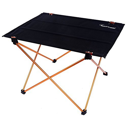 Sportneer Portable Lightweight Folding Camping Hiking Picnic Table