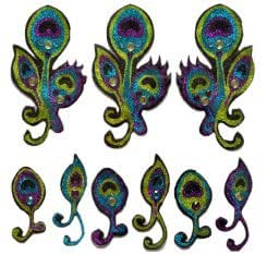 Xotic Eyes - Peacock Sleeve Body Art