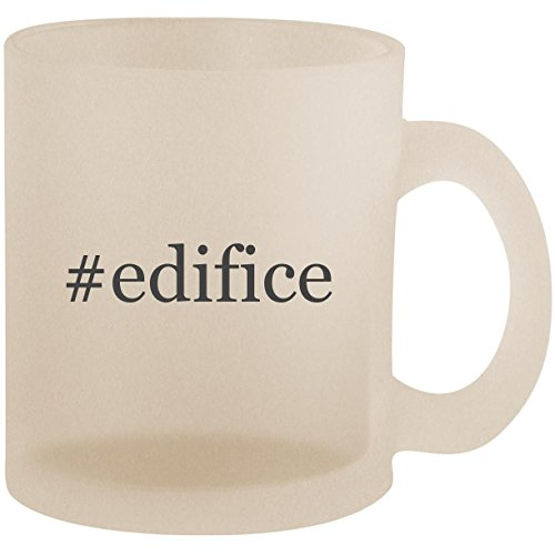 #edifice - Hashtag Frosted 10oz Glass Coffee Cup Mug