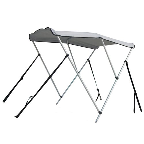Portable Bimini Top Cover Canopy For Length 14-16 ft Inflatable Boat (3 -