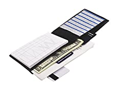 Waiter Wallet Jr. | Ultimate Restaurant Waitstaff Organizer | Waitress Server Book and Order Pad | Since 2009