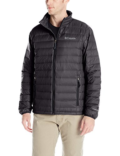 Columbia Men's Voodoo Falls 590 TurboDown Jacket, Black, LG
