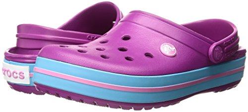 Zapato Crocs Crocband Para Adultos - Disponible En Muchos Colores !, Tamaño: 10 D (m) Us Hombres / 12 B (m) Us Mujeres, Color: Vibrant Violet