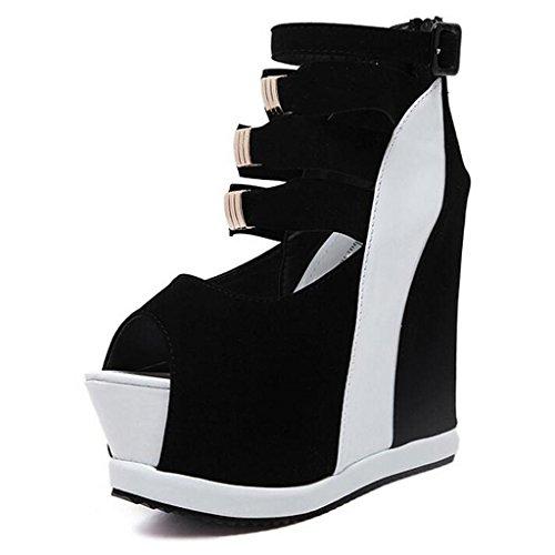 Boden Ballsaal Mund LLP Sandalen Schuhe Frauen Dicken Weibliche Heels Arbeitsplatz Heel Frauen High Super Schuhe Fisch High White xFfUIpfqw