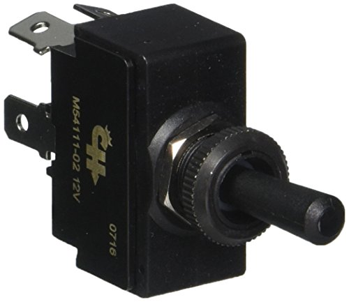 - Cole Hersee M-54111-02-BP SPDT Toggle Switch (Bld Lighted)