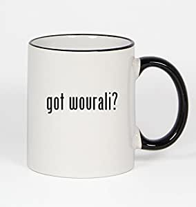 got wourali? - 11oz Black Handle Coffee Mug