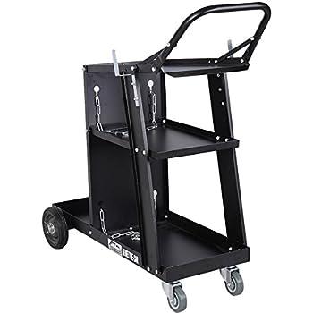 Giantex Welder Welding Cart Plasma Cutter MIG TIG ARC Universal Storage for Tanks
