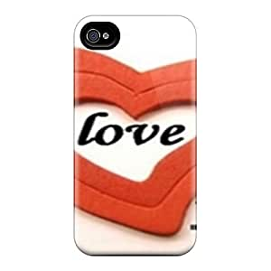 New Shockproof Protection Case Cover For Iphone 4/4s/ Love You Heart Case Cover