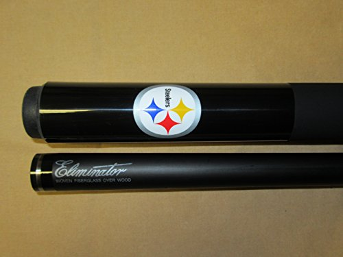 (Eliminator NFL Pittsburgh Steelers Billiard Pool Cue Stick)