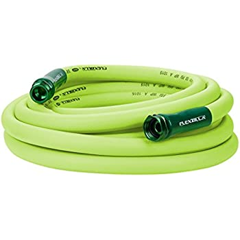 Flexzilla Garden Hose, 5/8 in. x 25'., Heavy Duty, Lightweight, Drinking Water Safe - HFZG525YW