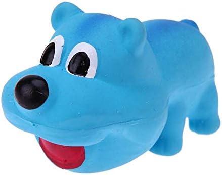 Hundespielzeug Quitschend Kauspielzeug Hund Haustier Spielzeug Hundezahnreinigung Spielzeug Hund Interaktives Spielzeug Spielzeug Für Kleine, Mittelgroße Hunde Blue