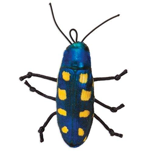 - Jackson Galaxy Beetle Bat Around Realistic Ground Prey Cat Toy, Yellow