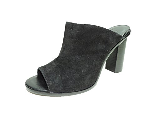Joie Womens Clement Black Suede 4.5'' heel Mules heels shoes Size 9 B by Joie
