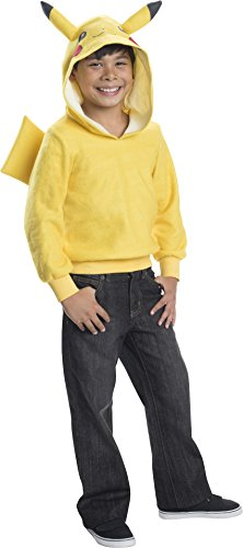 Rubie's Costume Pokemon Pikachu Child Novelty Hoodie Costume, Small