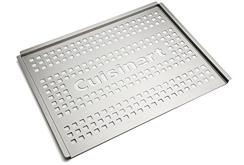 Cuisinart CGT-301 Stainless Steel Grill Topper, 12 x 16-Inch (Grill Topper Large)