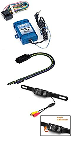 PAC SWI-RC Steering Wheel Control Interface+PAC TR1 Video Lockout Bypass Trigger Module And Cache Backup - Steering Wheel Video Control Interface