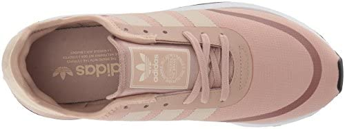 adidas Originals Women's Iniki Runner CLS W Running Shoe, ash Pearl/Linen/White, 7 M US