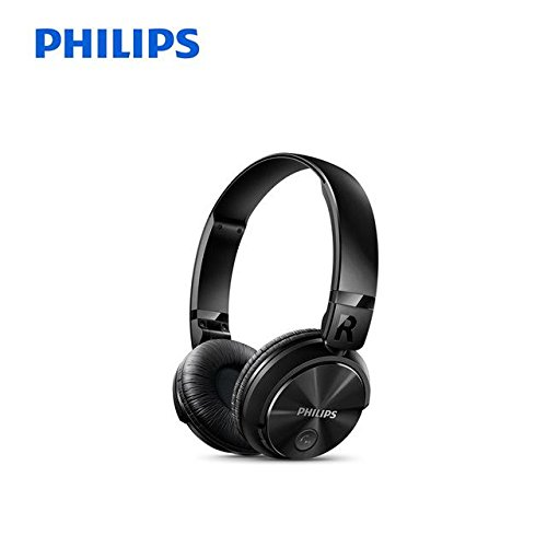HITSAN philips wireless earphone shb3060 with micro usb lithium battery 11 hours music time for iphone x iphone 8 official verification