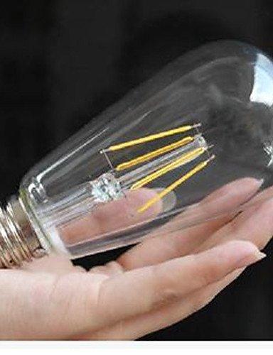 ZSQ ST58LED 6 W 2300K 2700K de color amarillo cálido bombillas LED blanco cálido, blanco cálido-220-240v #6447: Amazon.es: Iluminación