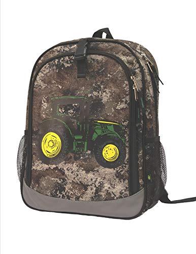 John Deere Truetimber STRATA Camo Tractor Bookbag Backpack LP70697 (Tractor Gift Bag)