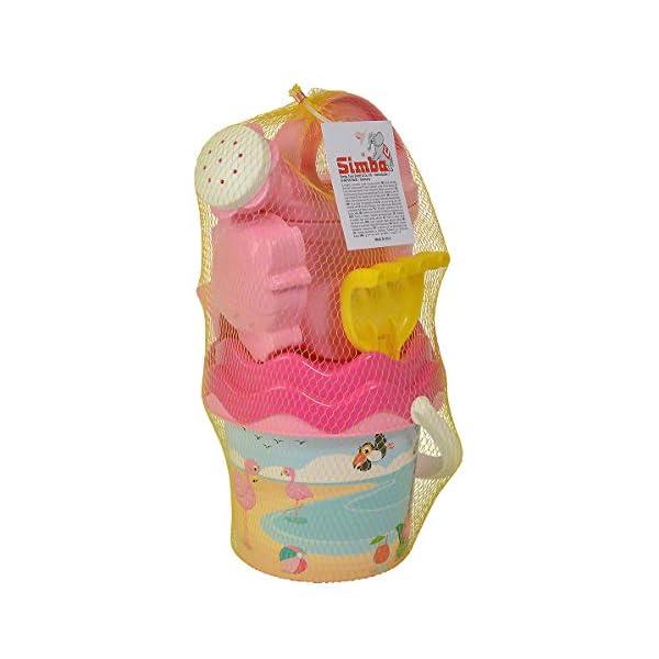 Androni Giocattoli- Secchiello Baby Fenicottero 1324 FEN, Multicolore, 1324fen 3 spesavip