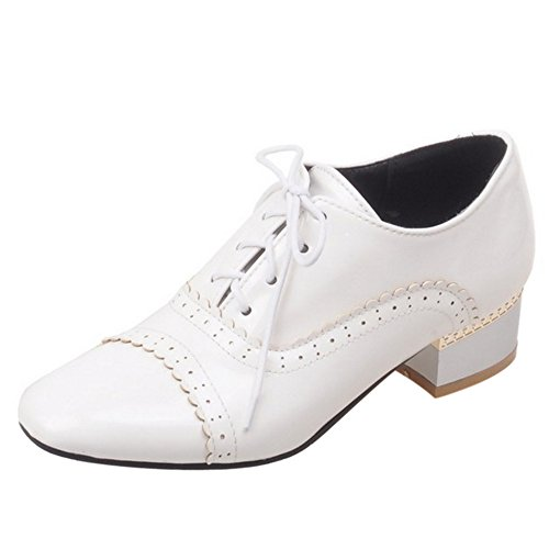 COOLCEPT Zapatillas para Mujer White