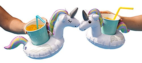 BigMouth Inflatable Magical Unicorn Cupholder