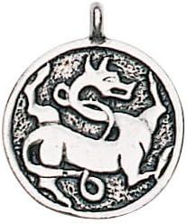 Trove of Valhalla Gripping Beast for Regeneration /& Vitality Charm Amulet Talisman Pendant
