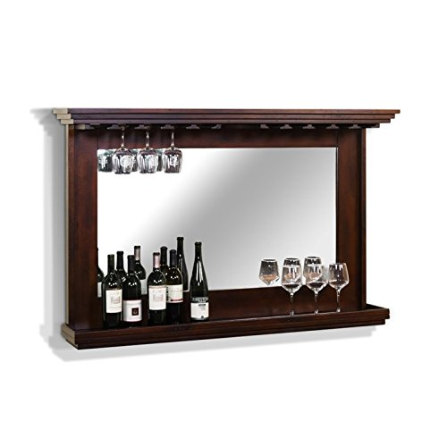 Sunny Designs Santa Fe Backbar with Mirror and Light (Back Bar compare prices)