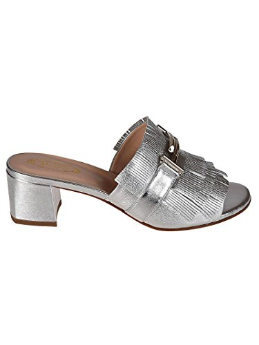 Leather Silver Tod's Women's Sandals XXW38A0X700NPPB200 Bq44wT