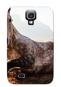 Exultantor Galaxy S4 Hybrid Tpu Case Cover Silicon Bumper Animal Horse