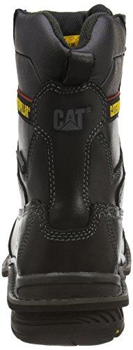 Cat Doffer, Herren Sicherheitsstiefel Schwarz (Black)