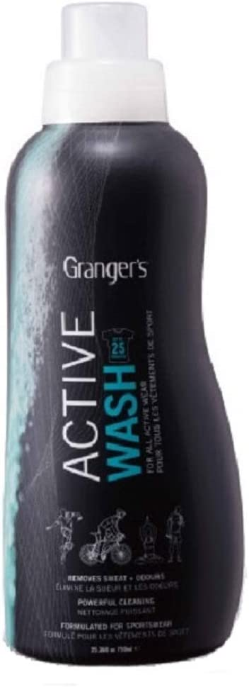 Granger's Active Wash / High Performance Sportswear & Activewear Cleaner / Made in England