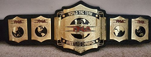 Musicalitem TNA World Tag Team Wrestling Championship Replica Belt Adult Size