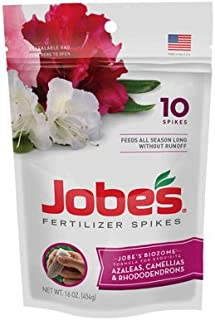 product image for Jobe'S Plant Food Azalea , Camellias & Rhododenron Spikes 9-8-7 Spike 10 / Pack