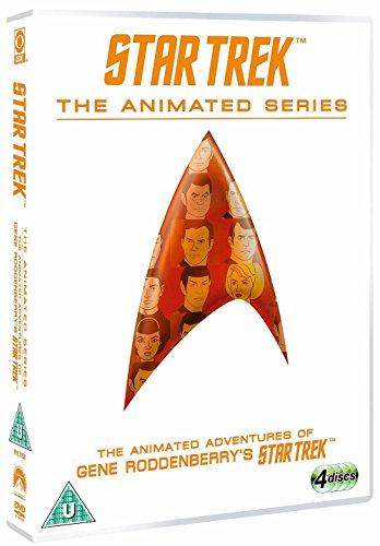 star trek - the animated series (4 dvd) box set (Star Trek Cartoon)