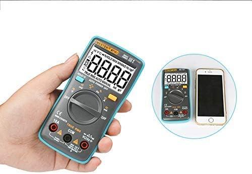 ZUQIEE Multimeter, Digital Multimeter Professional Probe Tester 6000 Counts Digital Meter Multimeters Multi Meter Multitester