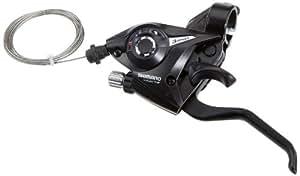 Shimano - Palanca de cambios y freno para bicicleta (3 velocidades, izquierda, V-Brake)