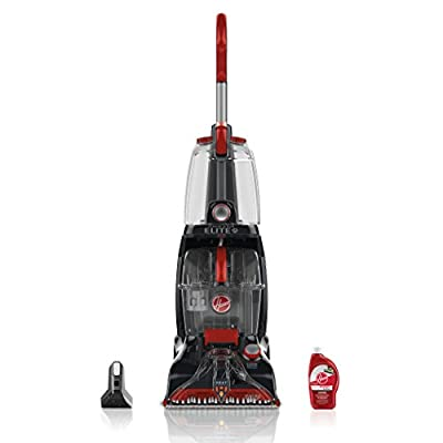 Hoover Power Scrub Elite Pet Carpet Cleaner with Free & Clean Carpet Cleaning Solution (50 oz), FH50251, AH30952