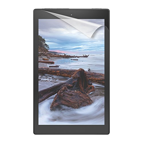 NuPro Fire HD 10 Screen Protector Kit (2-Pack) (5th Generation - 2015 release) , Anti-Glare