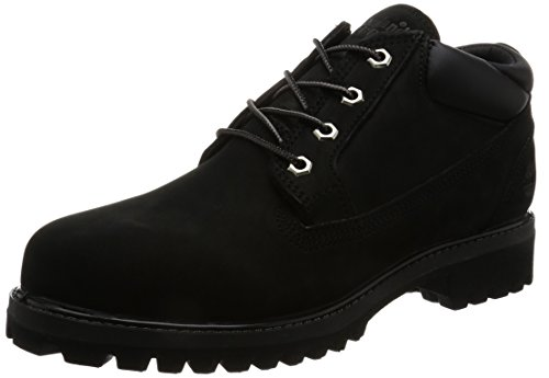 Timberland Men's Icon Premium Waterproof Oxford, Black Full Grain, 10.5 C US