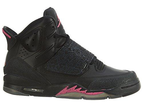 Jordan Nike Air Giovani Figlio Di Scarpe Da Basket Mars Ragazze Nero / Rosa Iper