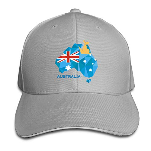Stralia Flag Map Australia National Pride 3D Printed Funny Art Layout Adjustable Casquette Hat Cap -