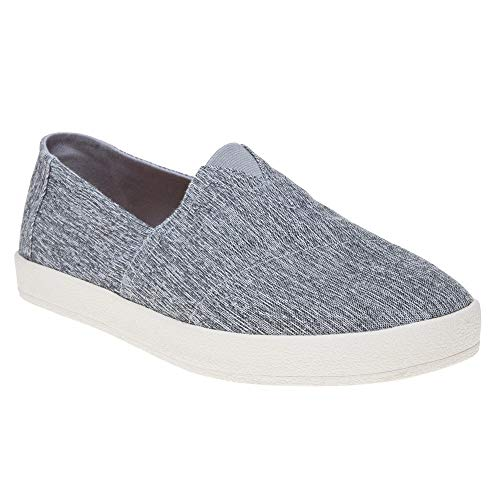 TOMS Men's Avalon Slip-On Forged Iron Grey Space-Dye Loafer ()