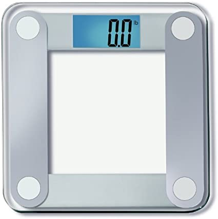 EatSmart Precision Digital Bathroom Scale w// Extra Large Lighted Display 400 lb