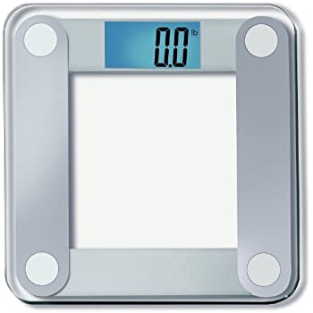 "EatSmart Precision Digital Bathroom Scale w/Extra Large Lighted Display, 400 lb. Capacity and""Step-On"" Technology - 25,000+ Reviews EatSmart Guaranteed Accurate"