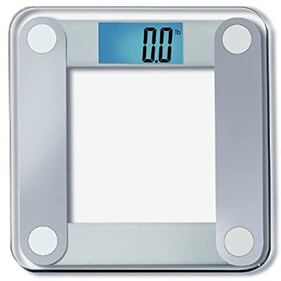 """EatSmart Precision Digital Bathroom Scale w/Extra Large Lighted Display, 400 lb. Capacity and""""Step-On"""" Technology - 25,000+ Reviews EatSmart Guaranteed Accurate"""