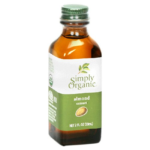 - Simply Organic Almond Extract, Certified Organic, 2-Ounce Containers  (Pack of 3)