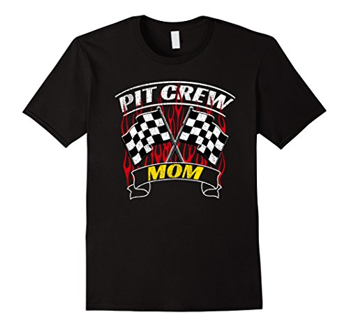 Formula Racing Pit Crew Team Member Mom T-Shirt Drag